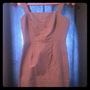 Jcrew grey sheath dress